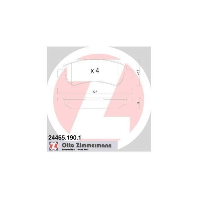 Frein à Disque 8db355012-911 pour CITROEN FIAT Hella PAGID Bremsbelagsatz