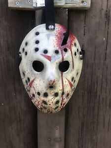 Jason-Voorhees-Part-4-Blood-Splatter-Custom-Hand-Painted-Mask-Friday-The-13th