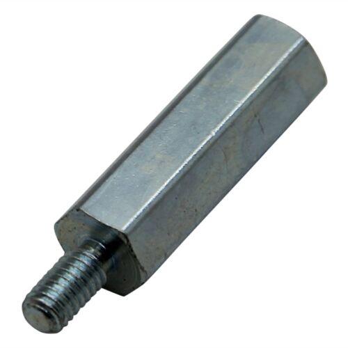 12mm steel //uk DREMEC 227X12 3x TFM-M4X12//DR227 Screwed spacer sleeve