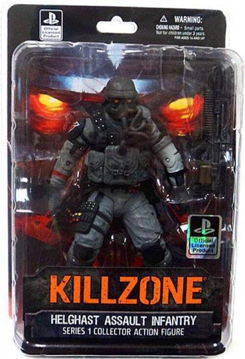 Killzone Helghast Assault Infantry Action Action Action Figure 30b77d