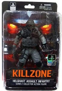 Killzone Helghast Assault Infantry Action Figure 761941294698