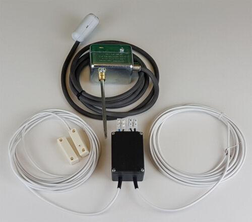 Fensterkontaktschalter Rauchgasüberwachung Kabel Einbau Abluftsteuerung