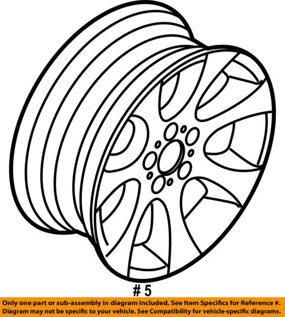 Bmw 325i 2006 2013 18 Factory Oem Wheel Rim 36116775602 59587 For
