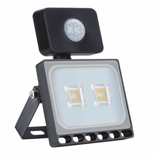 10Watt LED PIR Motion Sensor Flood Light Security Outdoor Garden Wall Floodlight
