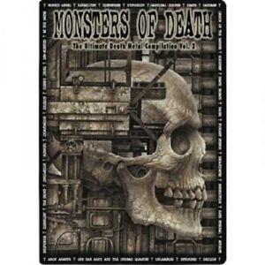 Monsters-of-Death-VOL-II-2-DVD-con-Amon-Amarth-e-molto-altro-Nuovo