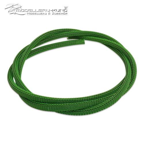 align HITEC protezione cavo verde//nero servo SAVOX 1 metri 6,0mm tubo tessuto