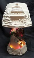 Christmas Village Ball Jar Lighted Kit - Mason Jar-ready To Paint Ceramic Bisque
