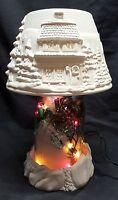 Christmas Village Ball Jar Lighted Kit - Mason Jar-ready To Paint Ceramic Bisque