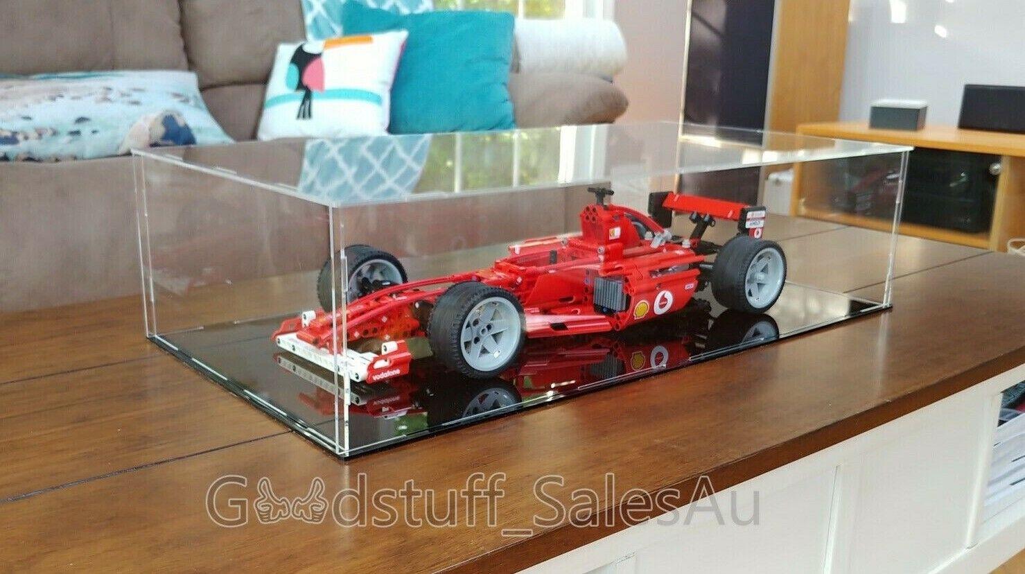 Lego  Display Case for Lego Ferrari F1 8386 Racer  ( Australia Seller)