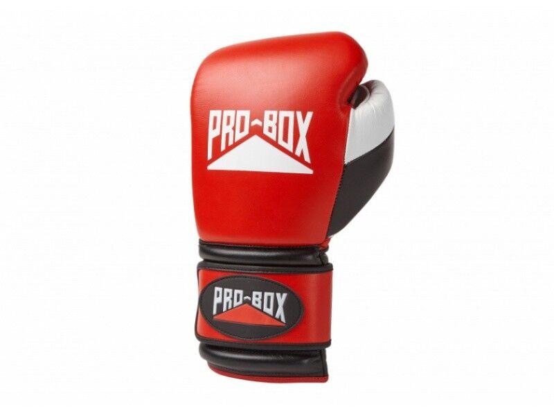 Pro Box Sparing Boxhandschuhe 10oz 12oz 14oz 14oz 12oz 16oz 18oz Schwarz Blau Rot pro Spar cfe2d0