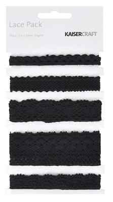KC-Black Lace Pack Rrp$6.50 Now 30%OFF!!