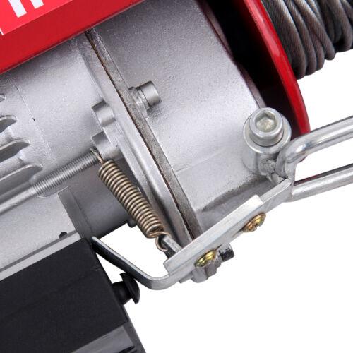 Samger Seilzug Seilwinde elektrisch Motorwinde Seilhebezug Winde Kranwinde 250KG