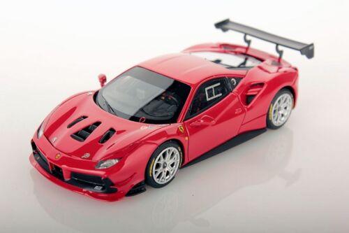 Ferrari 488 Challenge rouge course 2017 1//43 Looksmart