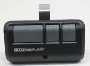 Chamberlain 953estd 3 Button Garage Door Opener Remote Hbw7359 Ebay