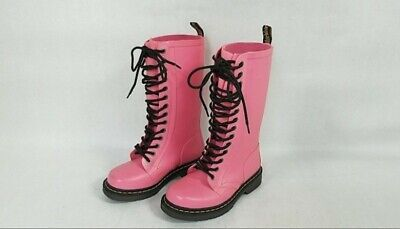 Dr. Martens Baby Pink Boots Size 5 Doc