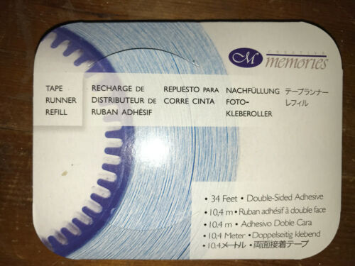 34/' NASTRO RUNNER ricarica da Creative Memories Scrapbook Adesivo Rotolo Nuovo