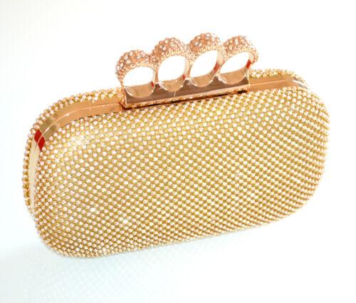Oro Borsello Elegante Cerimonia Strass Donna L15 Cristalli Pochette Borsa  Dorata wIC6dIq 7e947ed05d8