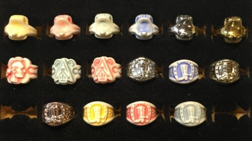 Vintage Penny King 60/'s Cowboy /& Indian Premium Vending Rings Your Choice