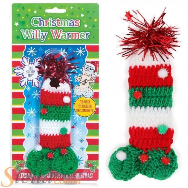 Christmas Willy Warmer Funny Rude Novelty Gift Secret Santa Ebay
