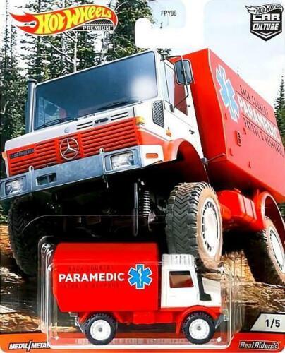 Hot Wheels 2020 Car Culture WILD TERRAIN /'88 Mercedes-Benz Unimog U 1300 NEW Rel