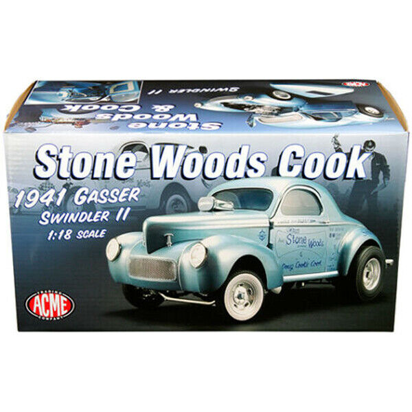 ACME 1 18 1941 Gasser Swindler II Stone Woods Cook Model bluee A1800912