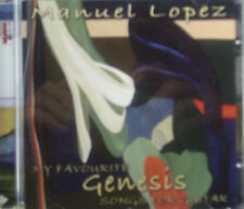 CD MANUEL LOPEZ - my favourite genesis songs for guitar