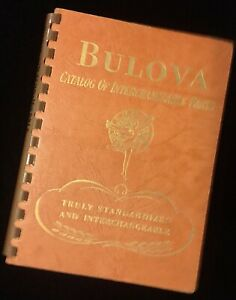 Vintage-Bulova-Catalog-of-Interchangeable-Parts-1952-American-watch-130-pg-guide