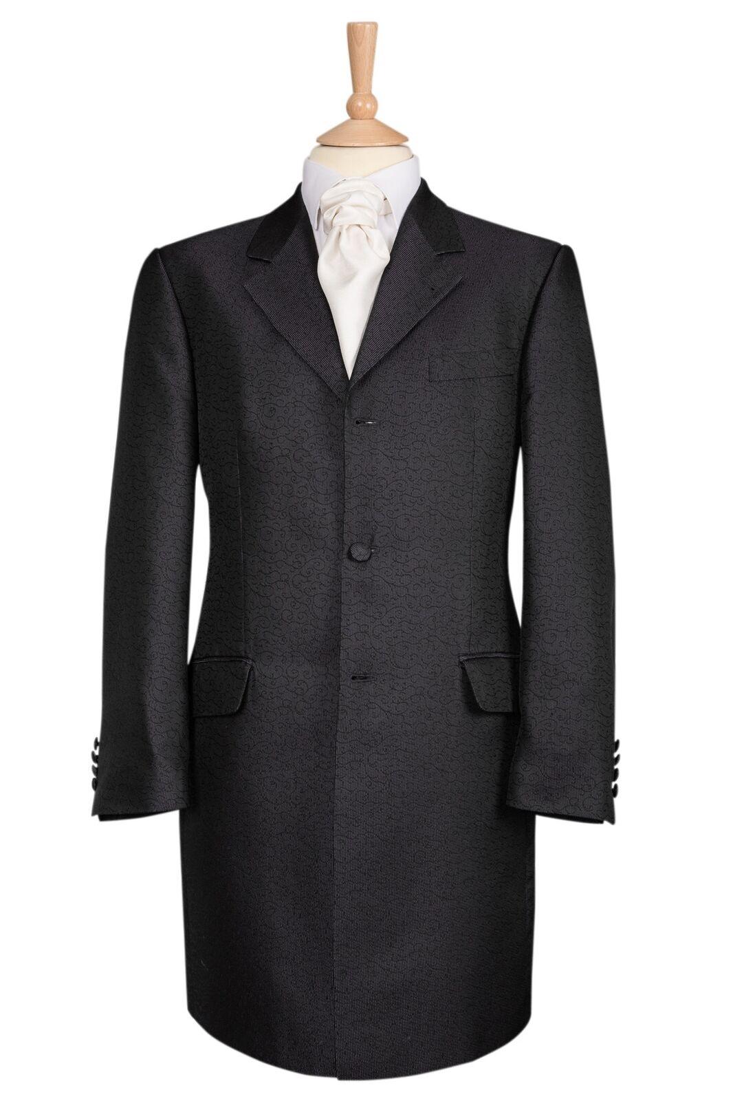 Grey Swirl Pattern Prince Edward Jacket - Ex Hire