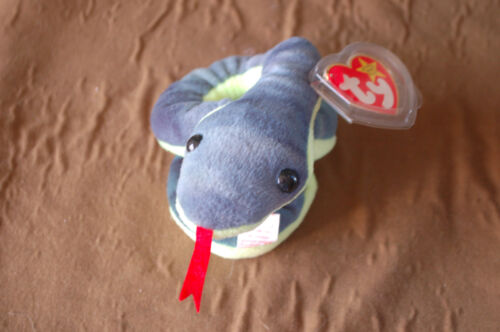 MWMT HISSY the Coiled Snake Fast Shipping Ty Beanie Baby