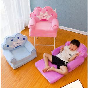 Foldable Children S Sofa Backrest Plush Toy Baby Feeding