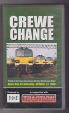 Crewe Change (VHS, 2002) Railway Video Tape ~ CineRail ~ Traction