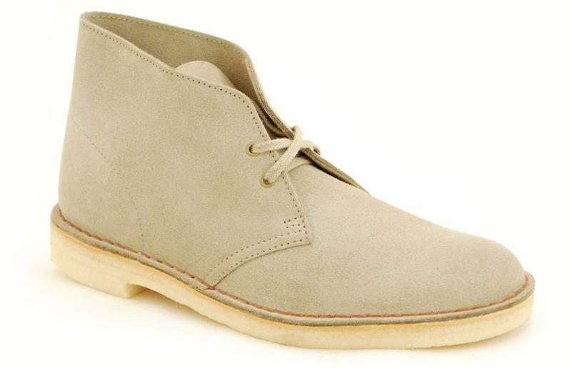 Der Klassiker Clarks Originals The Desert Boot Sand Suede  00111769 (3)