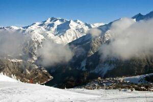 1850 3 Courchevel VALLI Sci Alpi Francesi Francia FOTOGRAFIA FOTO POSTER stampati