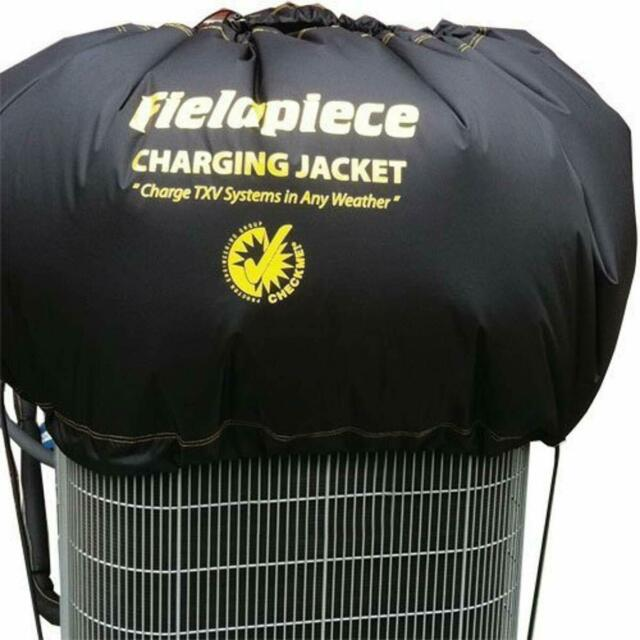 Fieldpiece S365 Charging Jacket for TXV Systems!  Charge In Any Weather!