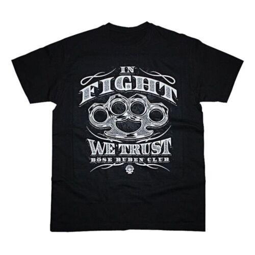 Le mal de valets Club dans Fight we trust t shirt thé tatouage Biker Gang Old #3257 021