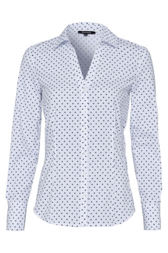 More /& More Femmes Chemisier manches longues Blouses Shirt Haut Top Us All-Over Print