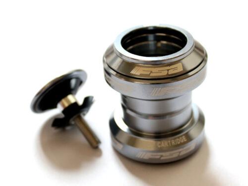 "FSA Orbit MX Threadless 1 1//8/"" 34mm Headset w// top cap 8-Colors"