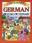 Let's Learn German Dictionary by Marlene Goodman (Hardback, 2003)