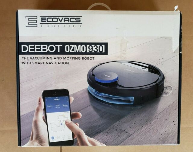 ECOVACS Robotics - DEEBOT OZMO 930 App-Controlled Self-Charging Robot Vacuum NEW