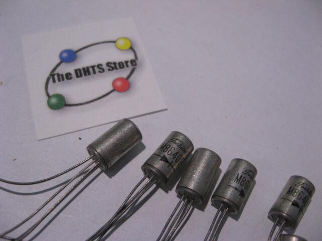 TOSHIBA 2SB461 Germanium NTE176 PNP TO39 Transistor NOS Fuzz Guitar Pedal Effect