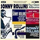 Sonny Rollins - Four Classic Albums ( Plus 4/ Vol.1/ Vol.2/Saxophone Colossus, 2008)