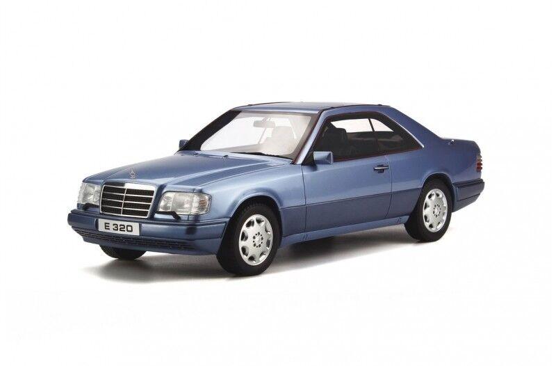 Mercedes - benz e - coupé 320e 320 c 124 w124 blau blau ot682 rar otto 1,18