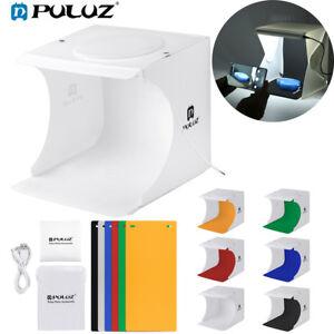 Mini-PULUZ-Photo-LED-Studio-Light-Box-Photography-Backdrop-Portable-Light-Room