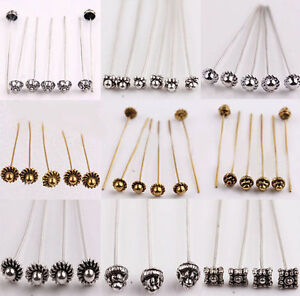 20pcs-Antique-Silver-Gold-Tone-Long-Head-Alloy-Pins-Jewelry-Making-Findings