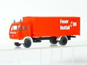 Roskopf 516 S MB Gerätewagen Feuerwehr  Notruf 118 - Schweiz 1:87  OVP