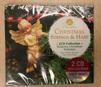 Tis The Season Christmas Strings & Harp 2 Cd Music Collection Holiday Sealed