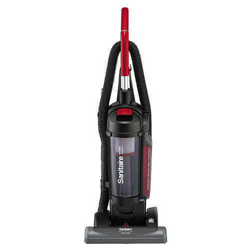 Sanitaire Bagless Cyclonic Vacuum with Sealed HEPA Filtration, Red  NEW