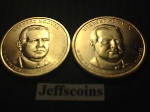 2014 HERBERT HOOVER PRESIDENT DOLLAR P or D MINT 1-COIN BRILLIANT UNCIRCULATED