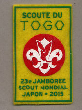 23rd world scout jamboree TOGO CONTINGENT 2015