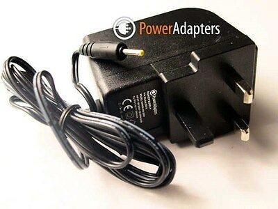 Archos 97 Carbon Android Tablet 9v UK Mains Charger / Power Adapter